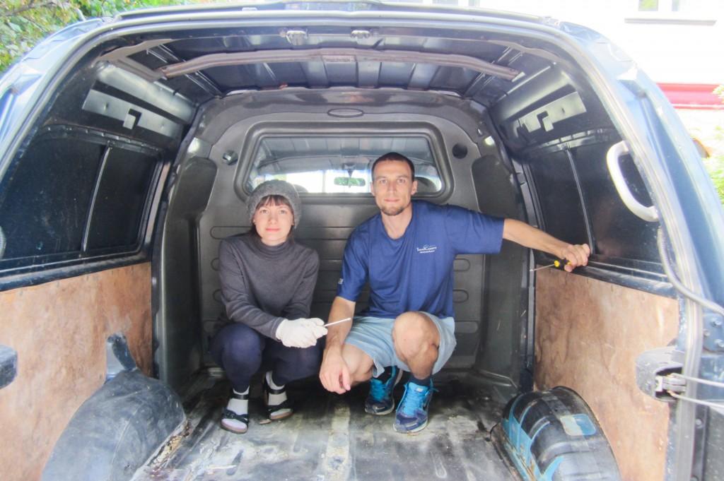 converting our van (part 1) |